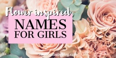 Girl names inspired by flowers