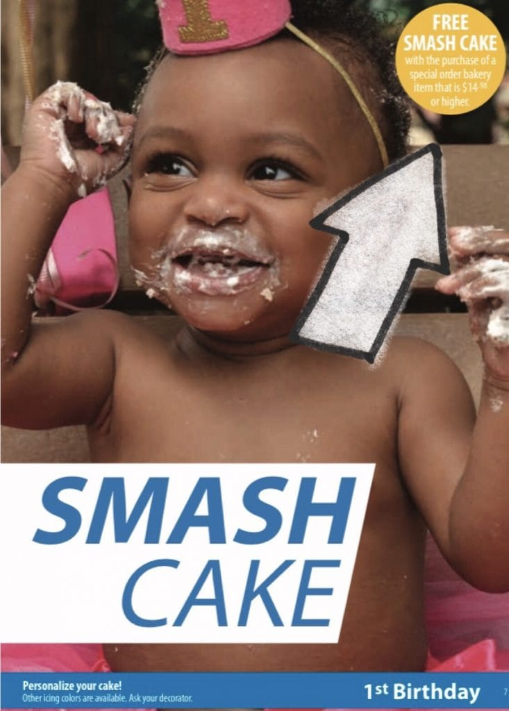 Free smash cake walmart