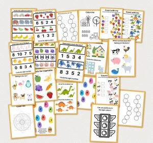 free printable busy book worksheets