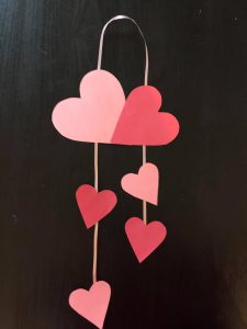 Mother's day heart craft