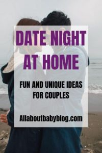 Date night at home