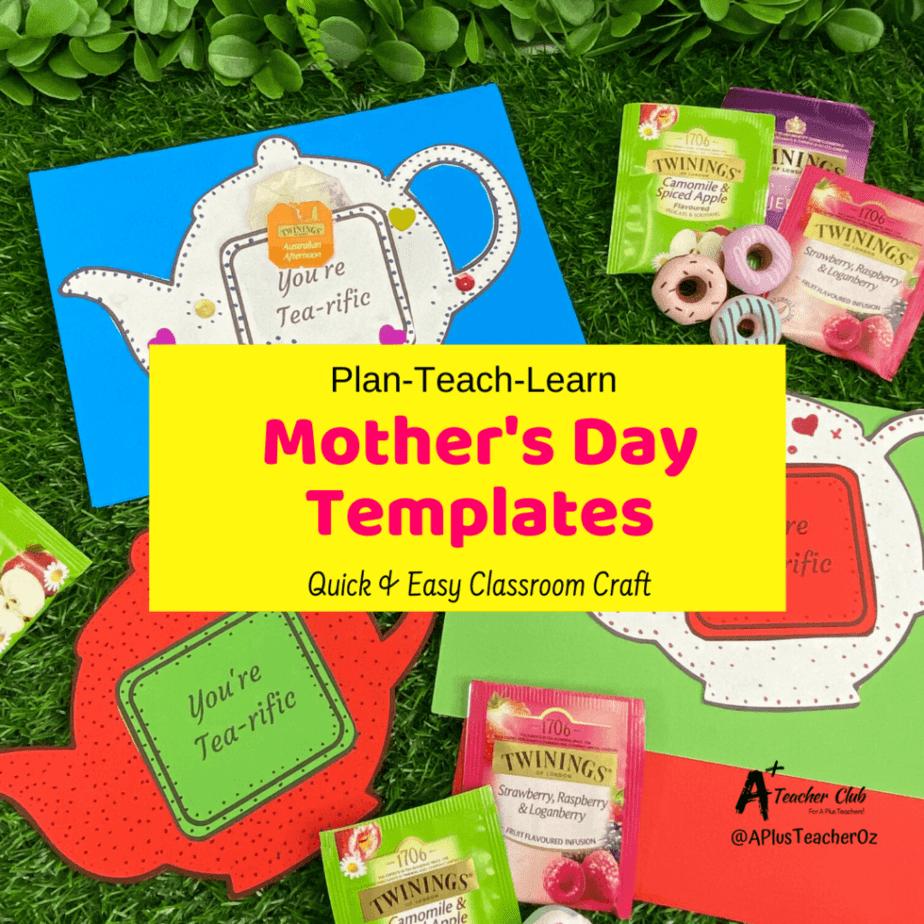 Tea pot mother's day card