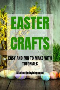Easy and fun to make Easter crafts with tutorial. These DIY projects are great as decoration or gift for family. Some of these projects are also customizable. #diy #Easter #eastercrafts #crafting