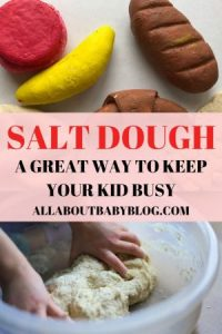 salt dough fake food