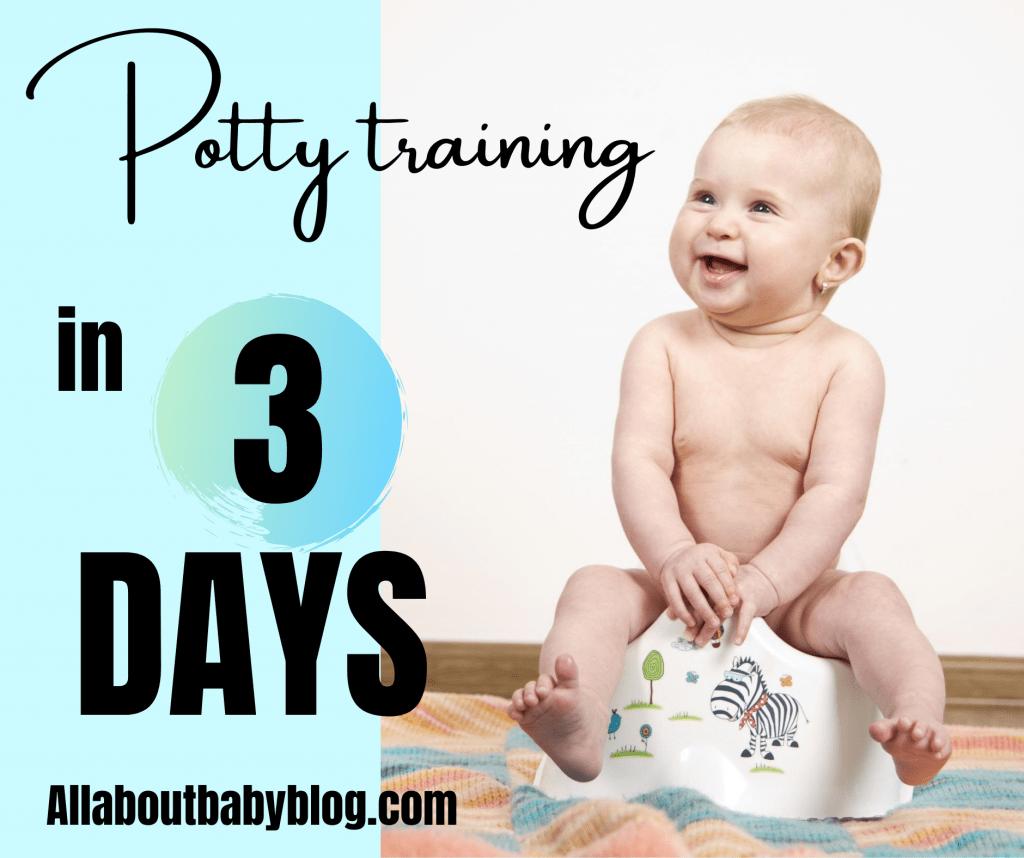 potty training in three days