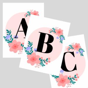 nursery decor ABC