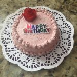 Healthy smash cake with delicious frosting