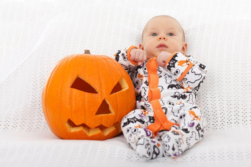 pumpkin halloween costume baby