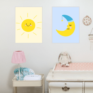 day and night nursery printable