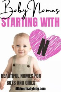 Baby names starting with the letter N