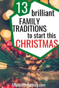 Christmas traditions for families to start this year
