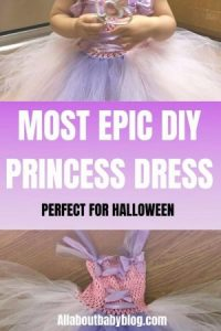 Super easy diy princess dress for halloween
