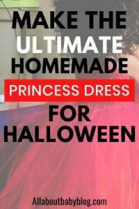 princess costume DIY