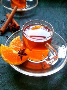 Orange spiced Black tea