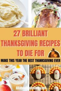 Brilliant recipes for thanksgiving