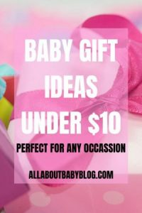 Baby gift ideas on a budget