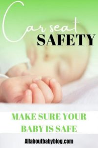 Car seat safety for babies
