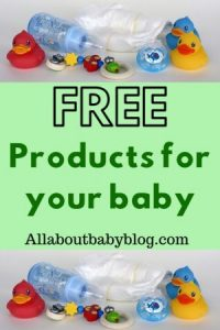 baby products for free