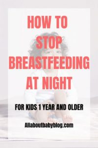 How to stop breastfeeding at night