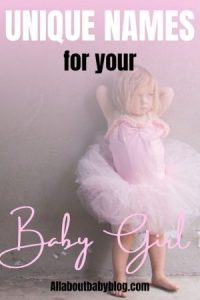unique names for baby girls