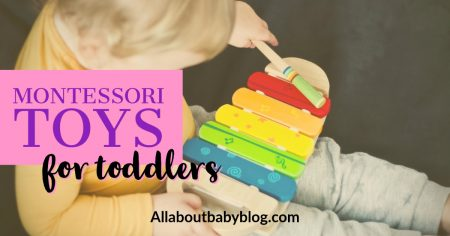 Montessori toys for toddlers (gift guide)