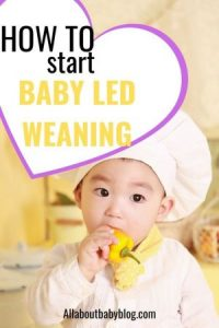 How to start with baby led weaning