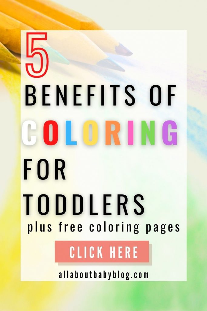 5 reasons to let your toddler color with free coloring pages