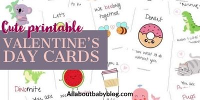 16 cute Valentine's Day cards for kids to print at home
