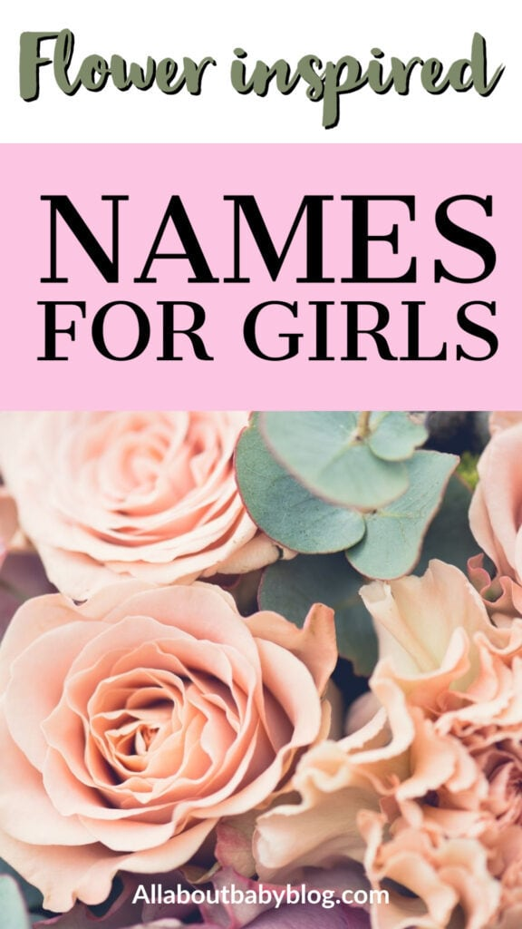botanical baby girl names inspired by flowers