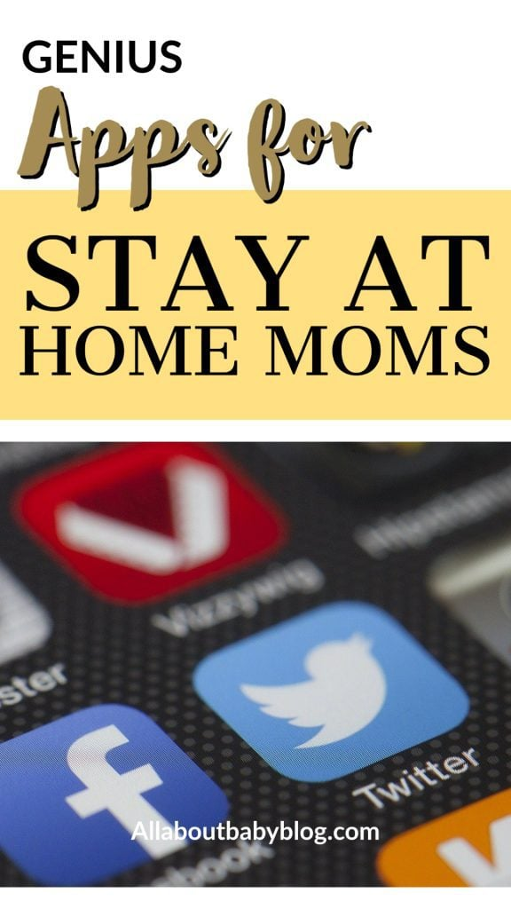 useful apps for stay at home moms