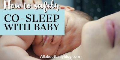 Co-sleeping with your baby – how to do it safely