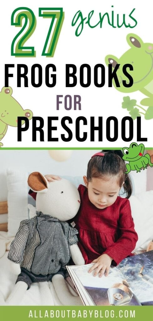 27 frog books for preschool aged kids