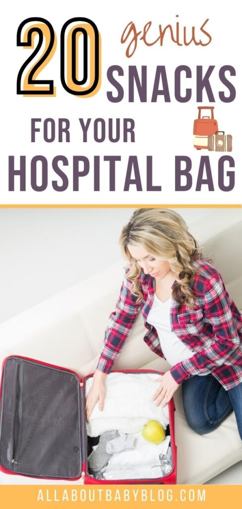 Snacks to pack in your hospital bag