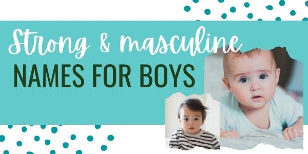 powerful names for boys
