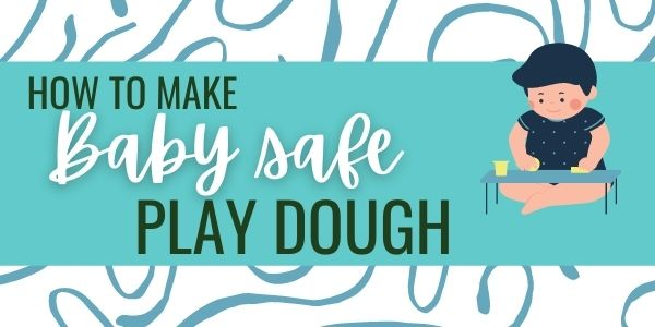 Baby safe play dough