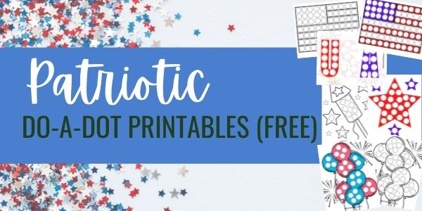 july 4th printables do a dot free
