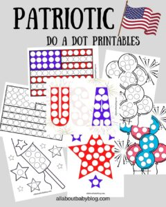 Do a dot printables for july 4th and memorial day free download