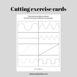 scissor cutting practice for kids