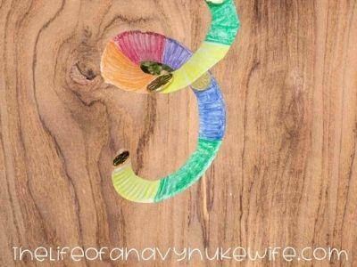 rainbow wind spiral paper plate craft