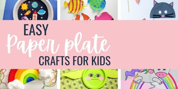simple paper plate projects for kids
