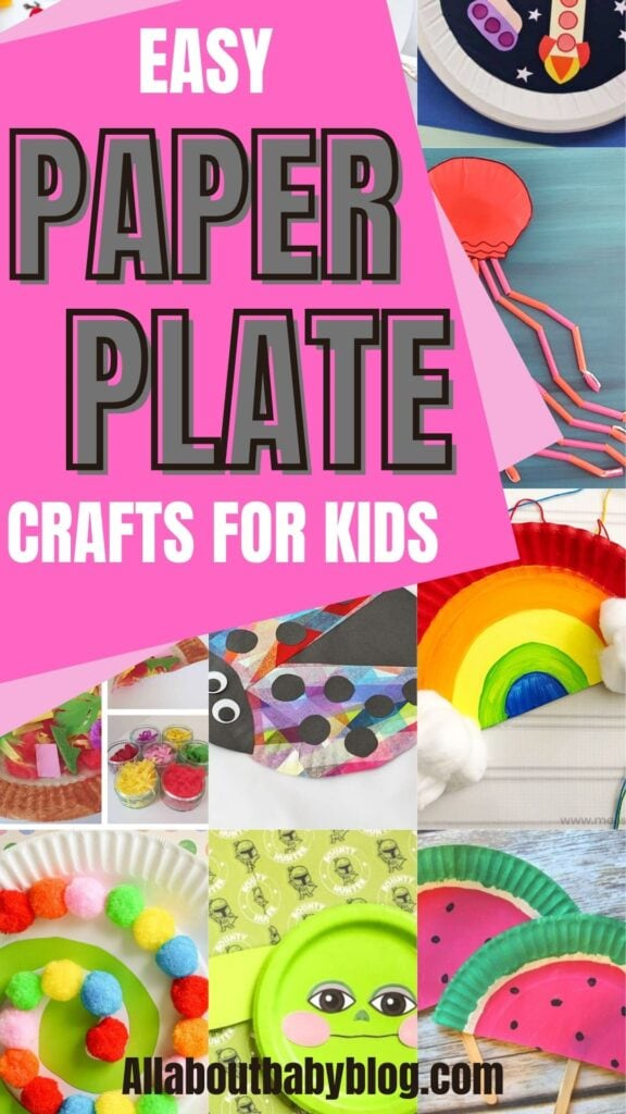 creative and easy paper plate craft for kids