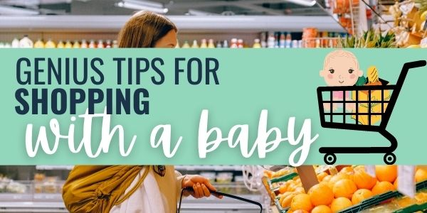 13 Genius tips to make shopping with baby a breeze