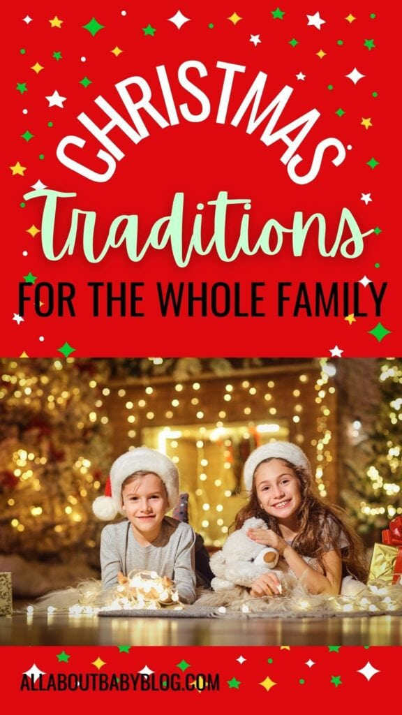 family christmas traditions for families with small kids
